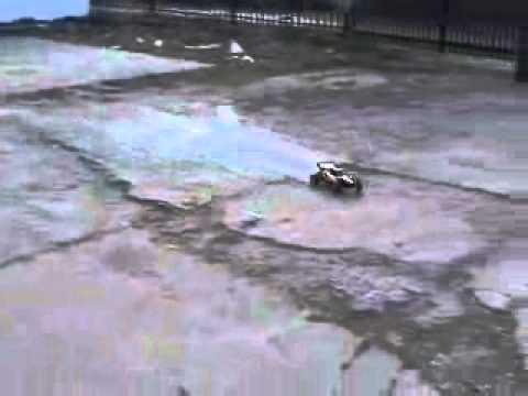 Wizards of NOS Nitrous Jet propulsion RC Car