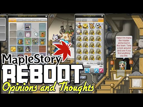 DaBoki's Thoughts On ReBoot Server : MapleStory