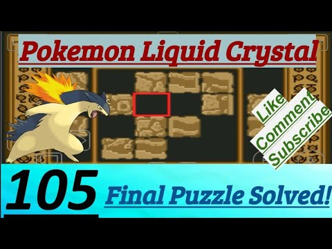 Pokemon Liquid Crystal Episode 105 Final Puzzle Solved At Ruins Of Alph