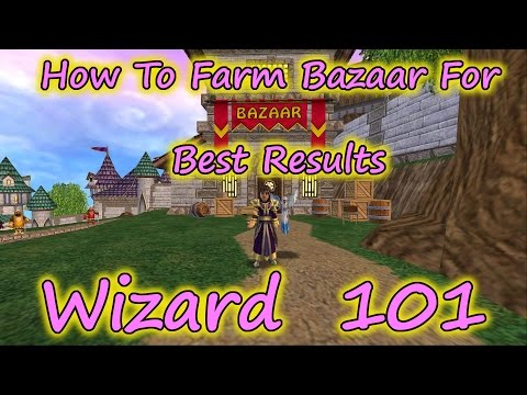 Wizard101: How to farm Bazaar for Best Results; Fossil - Black Pearl - Spring