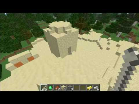 Minecraft: Sand pyramid First Look WITH SEED!