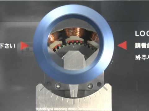 Stepping Motor's Rotor & Stator