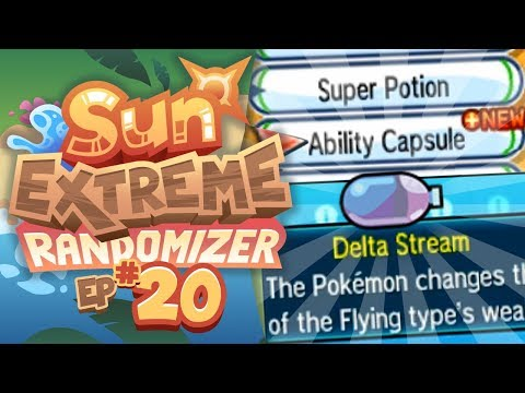 EXTREME ABILITY RANDOMIZING!! - Pokemon Sun Extreme Randomizer (Episode 20)