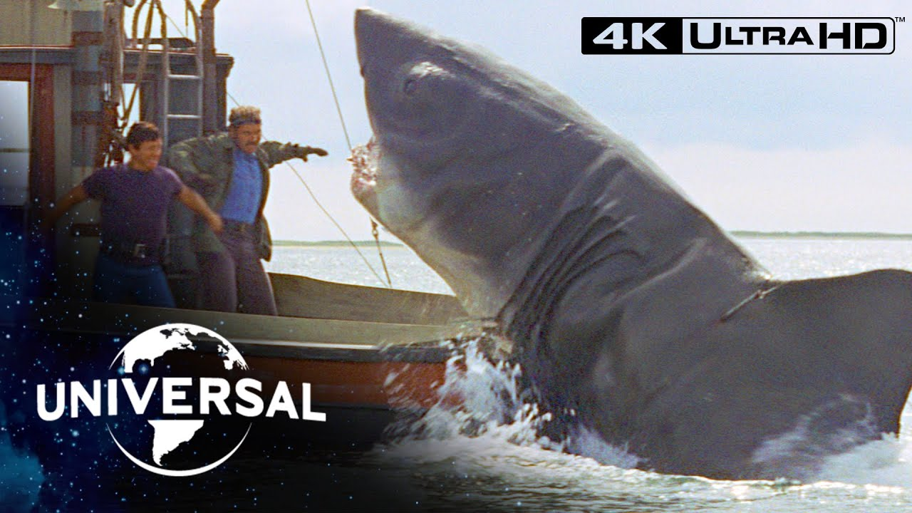 Jaws   Final Face-Off With the Shark in 4K Ultra HD