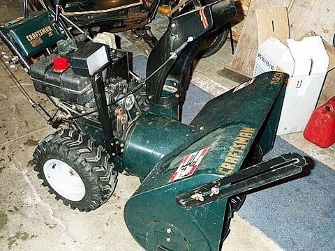 HOW TO ADJUST Snowblower Auger Belt Idler Pulley