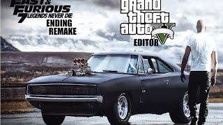 GTA V Editor Fast & Furious 7 Ending