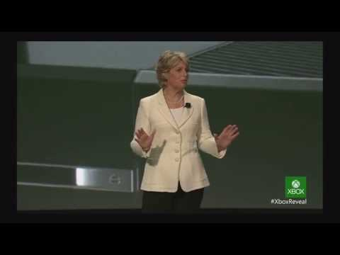 Xbox One Event  5/21/2013 Pt: 6 Nancy Tellem and the NFL