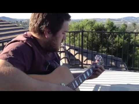 Morning guitar time! + Star Trek lens flare...fail