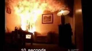 Как горит ёлка