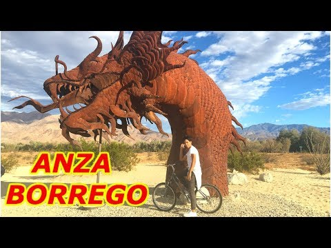 Anza Borrego Desert State Park |  Slot Canyon Sculptures and Hiking