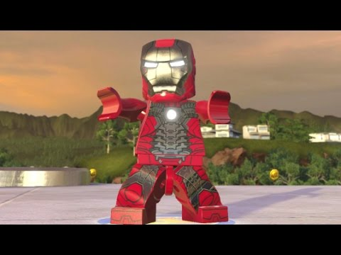 LEGO Marvel's Avengers - Iron Man (Mark 5) Unlock + Free Roam (Character Showcase)