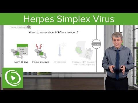 Febrile Baby: Herpes Simplex Virus – Pediatrics | Lecturio