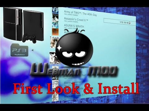 Webman on PS3 first look and installation