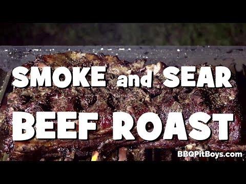 Smoke and Sear Beef Roast