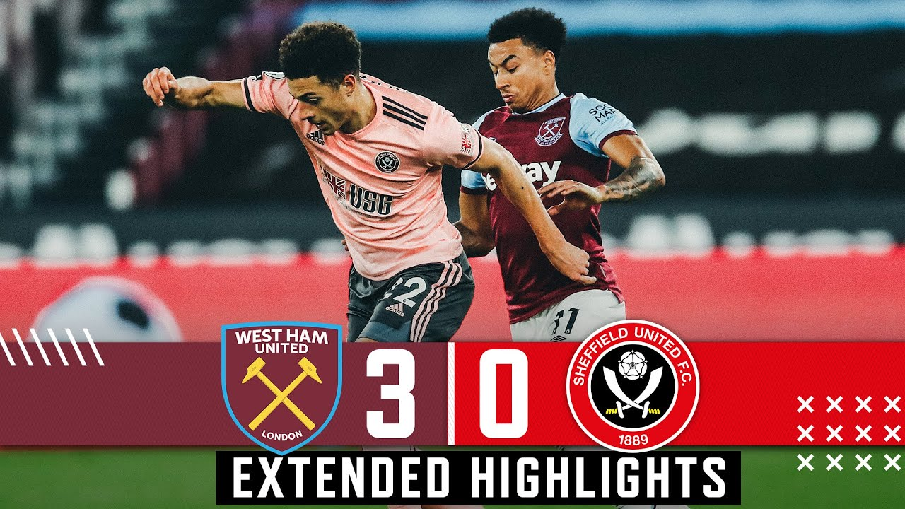 West Ham United 3-0 Sheffield United   Extended Premier League highlights   Lingard & Co Down Blades