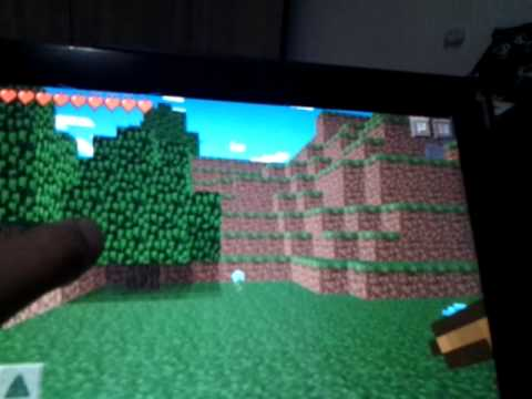 Como Jogar para dois Minecraft PE 0.7.3