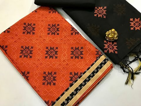 Cotton Printed Salwar Suit Material    Cotton Chudithar Material    Latest Churidar Suits