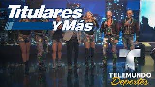"""Garibaldi nos pone a bailar con """"La cucaracha""""   Titulares y Más   Telemundo Deportes"""
