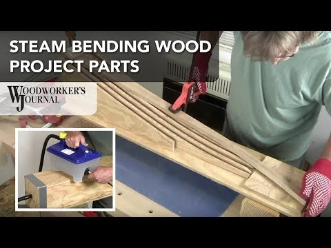 Steam Bending Woodworking Project Parts | Music Stand Project