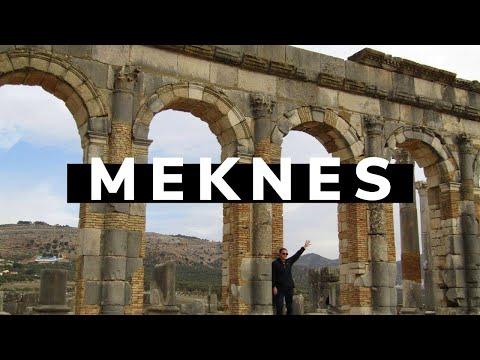 MOROCCO ROMAN RUINS 🇲🇦🏛- Travel Vlog