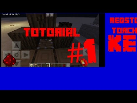 Redstone Torch key TUTORIAL#1
