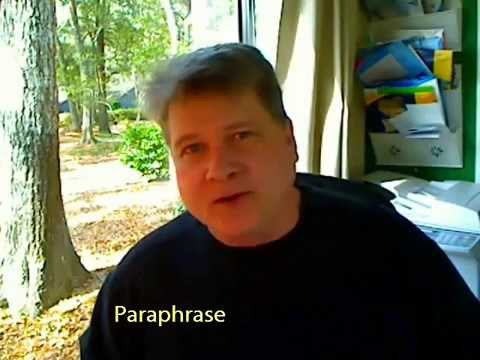 Paraphrasing: How to Avoid Plagiarism in Research Papers with Paraphrases & Quotations