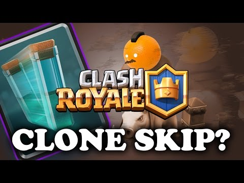 Clash Royale | How to Clone Spell | Clone Skipping