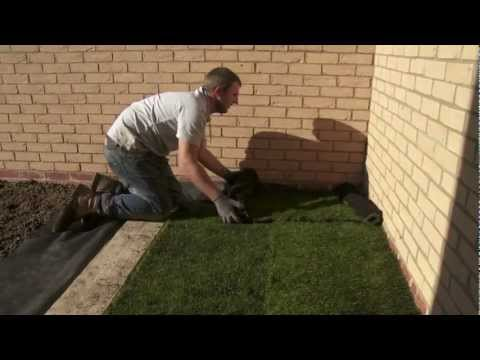 How to lay turf - part 1 of 2