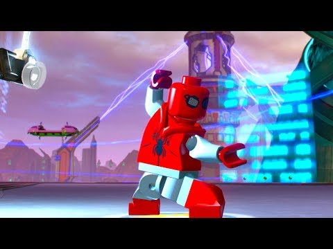 LEGO Marvel Super Heroes 2 Spider-Man Homemade Suit Unlock Location and Free Roam Gameplay