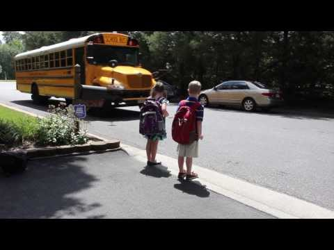 School Bus Safety Message From Henrico Police
