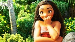 "MOANA All NEW CLIP ""Gone Fishing""  | Disney Animated Movie"