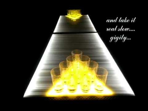 Glowing LED Beer Pong Table | CustomGlow - Light Demo