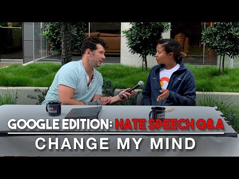 Xxx Mp4 Change My Mind Google Edition Hate Speech Q Amp A Louder With Crowder 3gp Sex