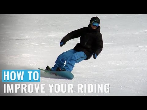 How To Improve Your Riding (Regular) On A Snowboard