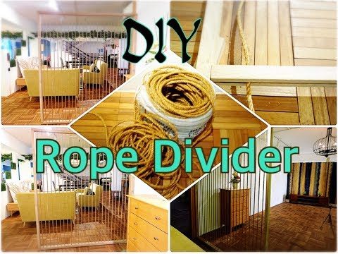 DIY Simple Rope Divider  2018 (Divider 1)
