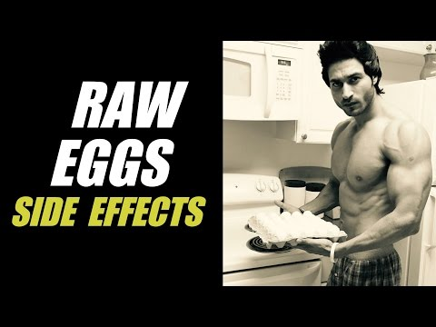 Side Effects of eating RAW EGGS | Info by Guru Mann