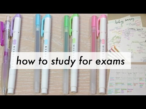 How to Organize, Plan, and Study for Exams   a collab with Noshi