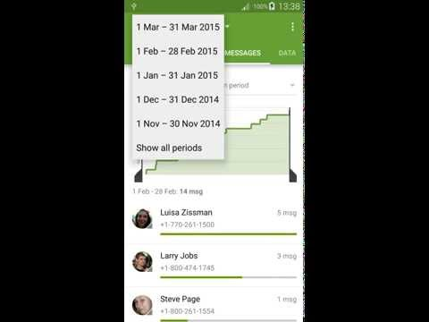 Callistics - Call, messages and data usage for Android phones