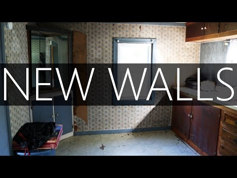 $12,000 HOUSE - BUILDING KITCHEN WALLS - #14
