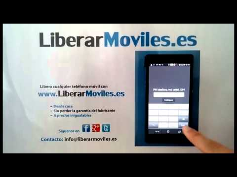 Instrucciones para liberar el móvil Sony Xperia Z. Instructions for unlock Sony Xperia Z