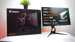 "VLOG: Aorus AD27QD 27"" 1440p 144hz IPS Gaming Monitor Unboxing & Overview [Ph]"