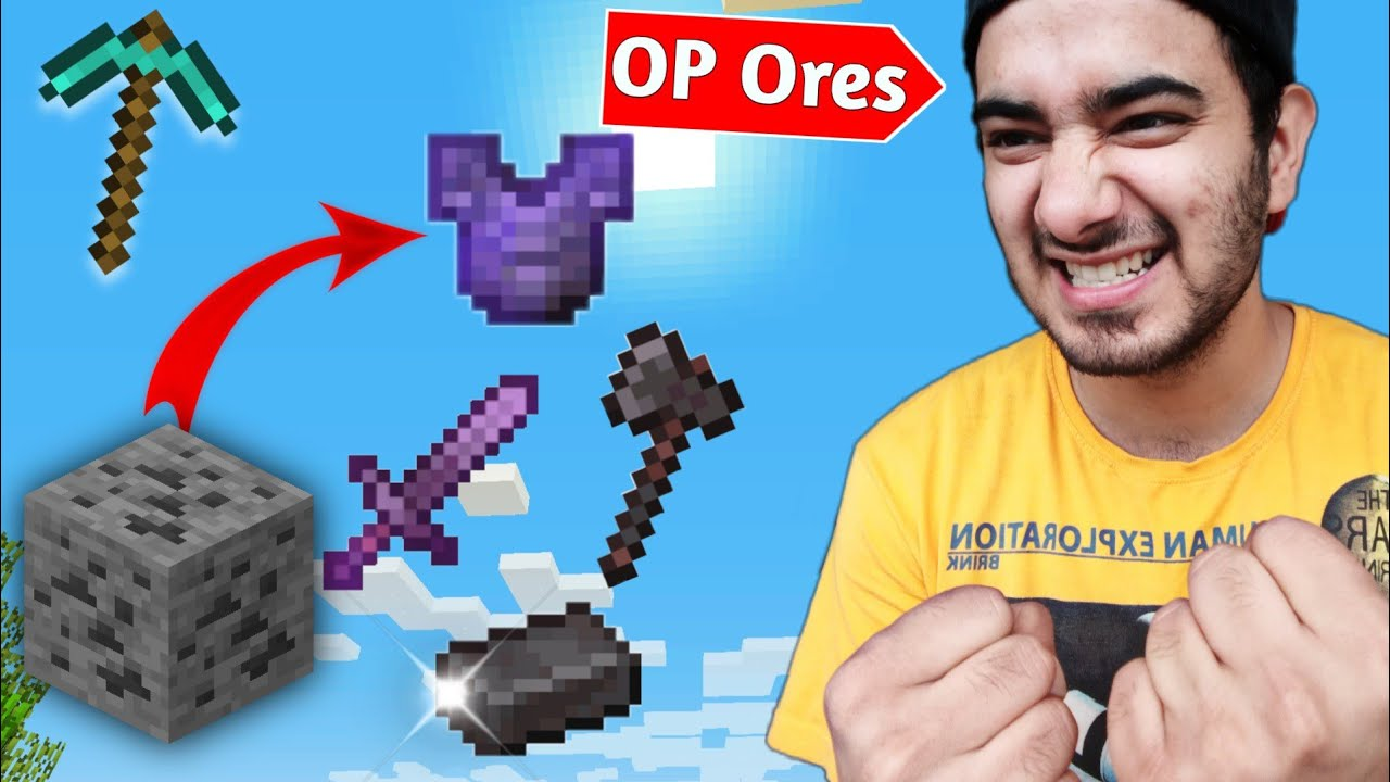 Minecraft, But Every Ore Drop Super Items....