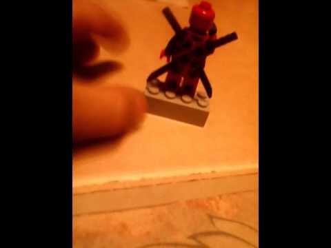 How to make Lego deadpool