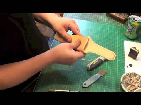 making a custom sheath