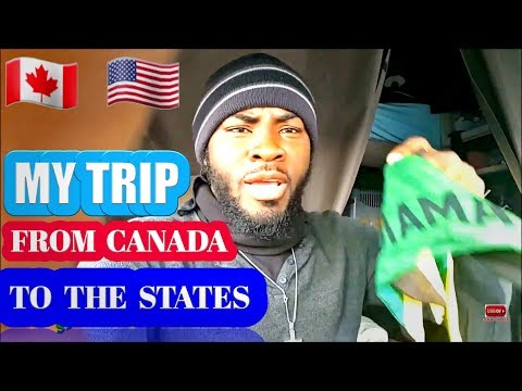 Jamaican Trucker First Trip To NEW JERSEY Driving Truck From Canada, 🇨🇦 , VLOG #04.