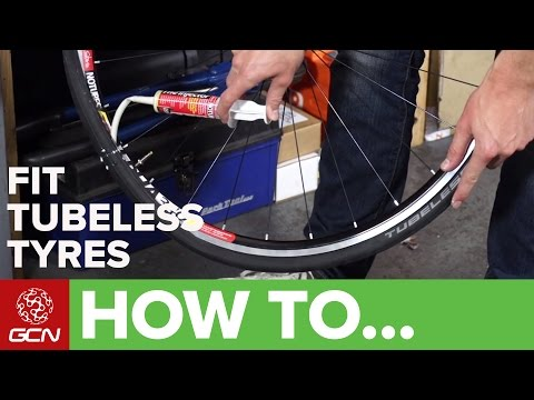 How To Fit Road Tubeless Tyres