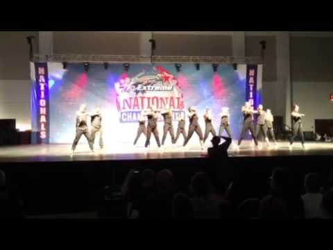 TC Roberson Day 1 National Competition- hip hop routine - Virginia Beach