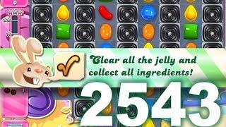 Candy Crush Saga Level 2543 (No boosters)