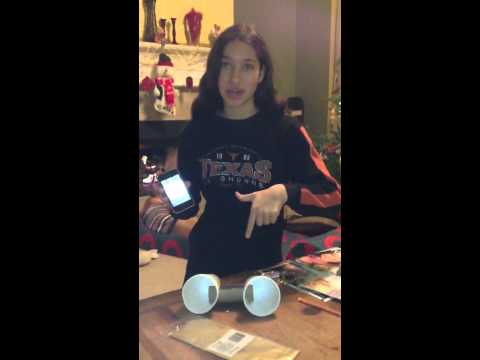 Homemade Stereo Speakers for Your iPhone