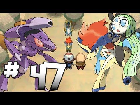 Let's Play Pokemon: Black - Part 47 - Meloetta, Genesect, Keldeo